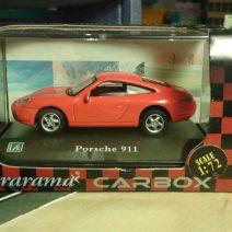 Fém model - Porsche 911