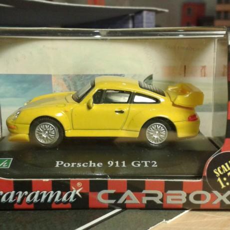 Fém model - Porsche 911 GT2