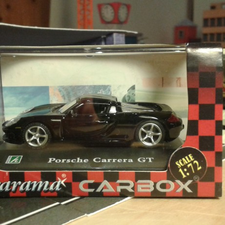 Fém model - Porsche Carrera GT